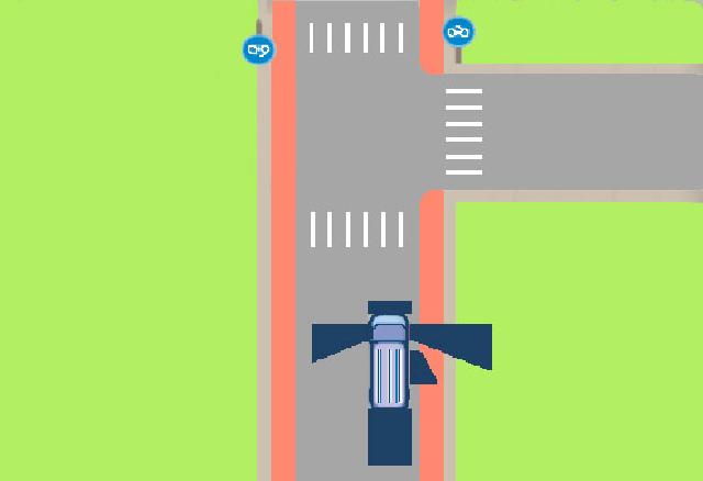 aan welke zijde is de dode hoek bij een vrachtauto het grootst?