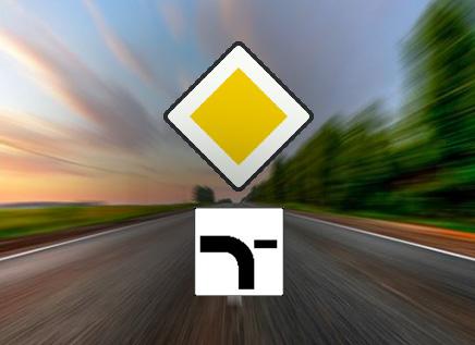 Je ziet deze twee verkeersborden onder elkaar. welke bewering is juist?
