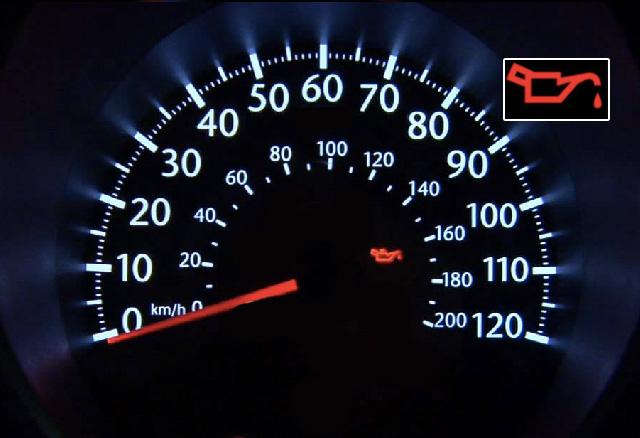 Dit rode lampje brandt op uw dashboard. rijdt u door?