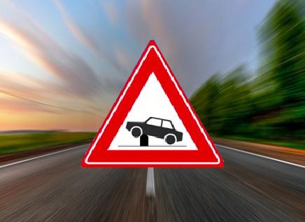 Word je hier gewaarschuwd voor een verkeersdrempel?