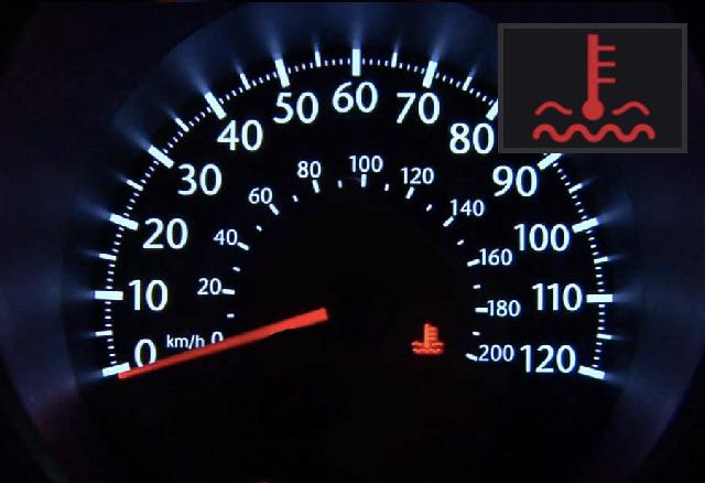 Tijdens het rijden gaat op het dashboard dit lampje branden. wat moet je bijvullen?