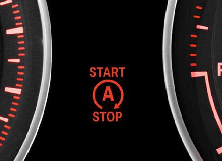 Betekent dit symbool dat de motor automatisch start als deze per ongeluk is afgeslagen?