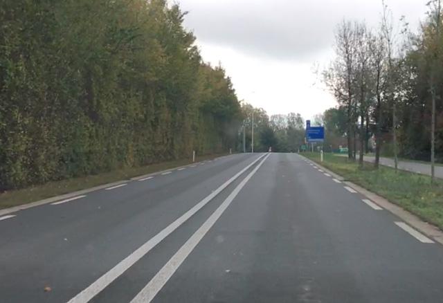 Hoe hard mag je op deze weg rijden?